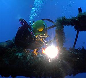 onderwaterlasser